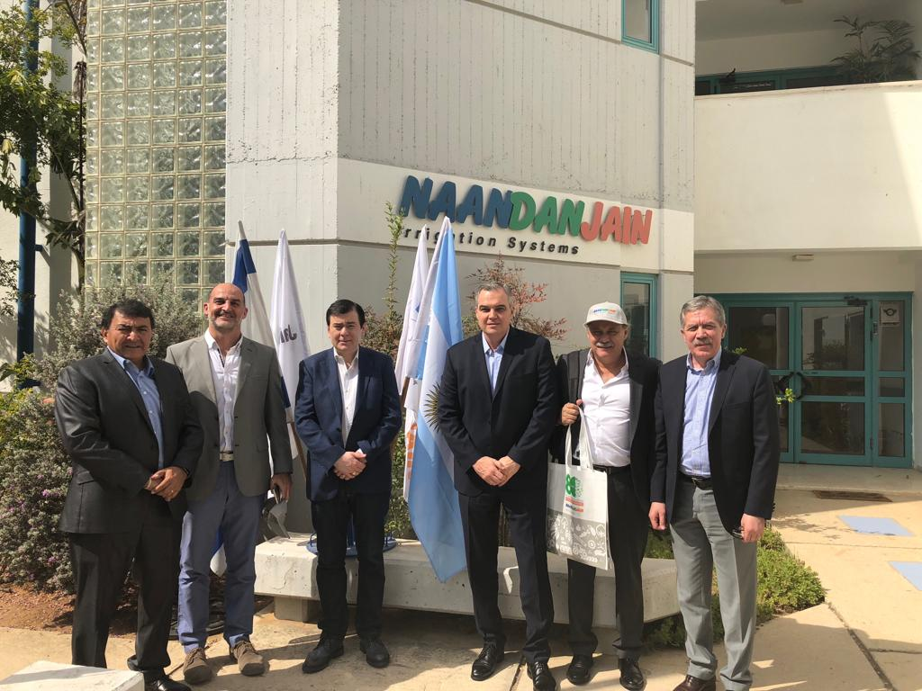 Visita NaanDanJain Irrigation Ltd.